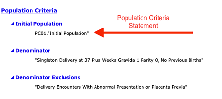 PC01 Initial Population