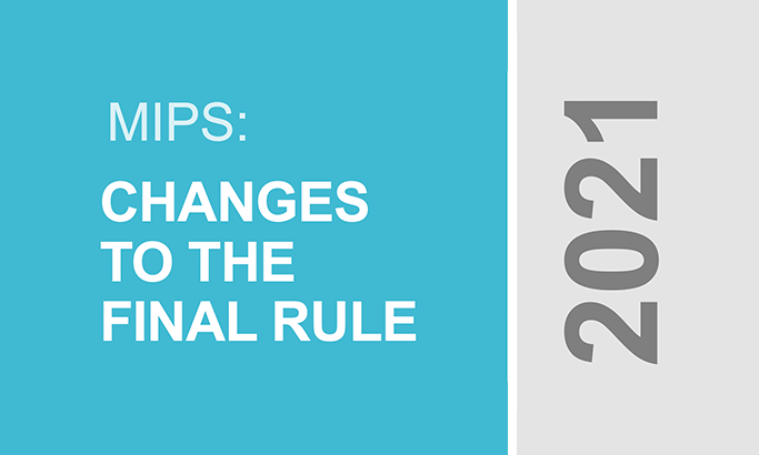 Changes to MIPS 2021 final rule