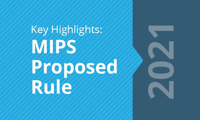 2021 MIPS Proposed Rule