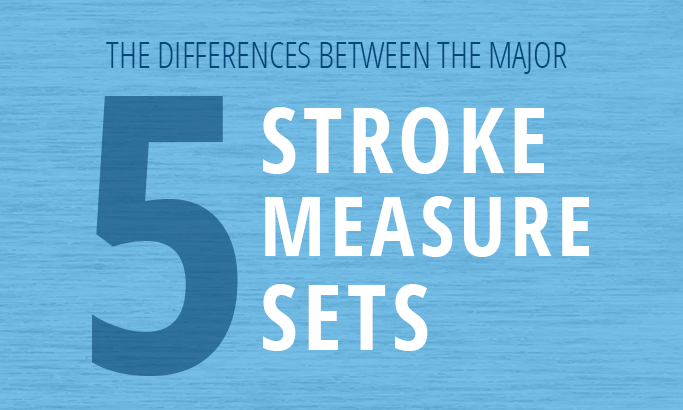 The Differences Between The 5 Major Stroke Measures Sets
