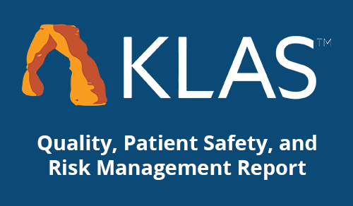 Medisolv is Top-Rated Performance Management Focused Vendor for Adapting to Industry Regulations in KLAS Quality, Patient Safety, and Risk Management Report